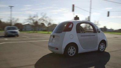 La voiture autonome de Google autorisée sur les routes de Californie