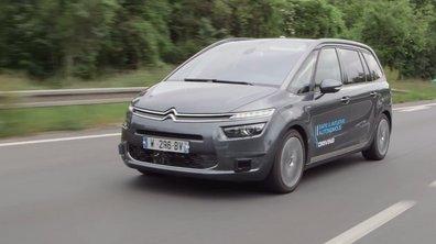 La voiture autonome de PSA Peugeot-Citroën