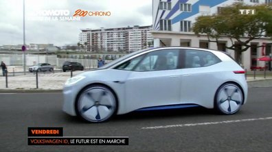 Au volant du concept Volkswagen I.D. 2016
