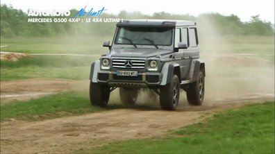 No Limit : Mercedes Classe G 4x4, au carré !
