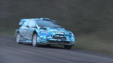 WRC : La Ford Fiesta 2017 en essais