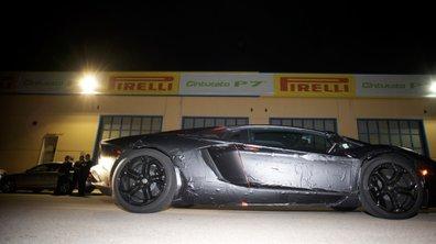 Lamborghini Aventador: toutes les données dévoilées