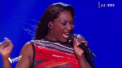 Aya Nakamura « Pookie » en direct pour la finale The Voice 2019