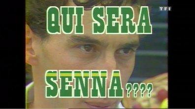 """Ayrton Senna : """"J'ai besoin de vitesse pour être bien !"""" (12 juillet 1986 dans Automoto)"""