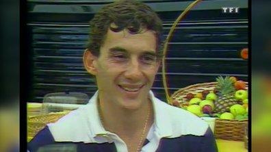 F1 : Interview d'Ayrton Senna - Automoto 12 juillet 1986