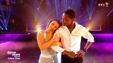 DALS - Azize Diabaté et Denitsa Ikonomova - Foxtrot - Céline Dion (Pour que tu m'aimes encore)