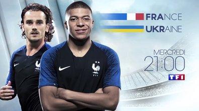 France - Ukraine : Rendez-vous mercredi à 21h sur TF1 !
