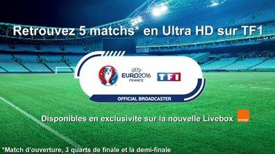 Cinq matches de l'Euro 2016 en Ultra HD sur TF1 !
