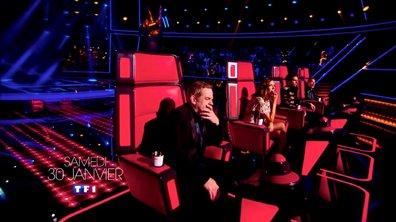 Les premières auditions à l'aveugle : découvrez trois voix inédites !