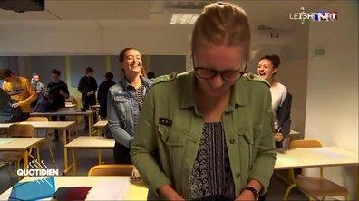 Baccalauréat : les lycéens prennent la confiance avec les journalistes