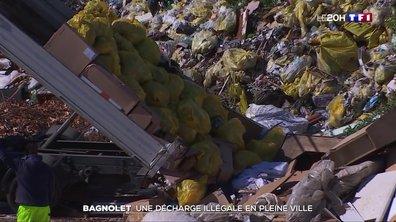 Bagnolet : une décharge illégale en pleine ville