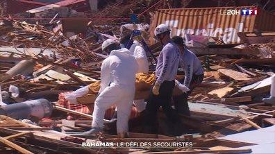 Bahamas : le défi des secouristes