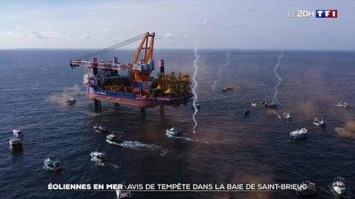 Baie de Saint-Brieuc : tempête autour d'un projet de parc éolien