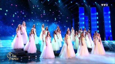 Les 30 Miss régionales rendent un vibrant hommage à Johnny Hallyday