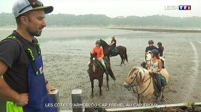 Balade à cheval du cap Fréhel au cap d'Erquy en Côtes-d'Armor