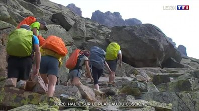 Balade dans la partie sud du GR20, en Corse
