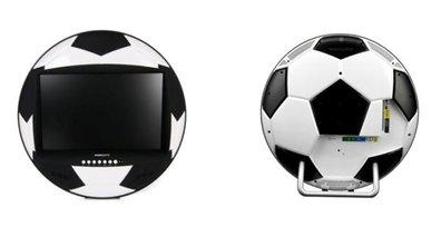 Insolite : la télé complètement foot !
