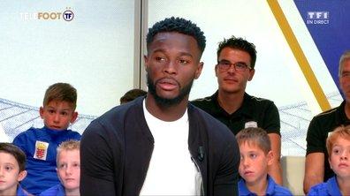 """[EXCLU Téléfoot – 04/11] - Bamba évoque l'équipe de France : """"A moi de continuer à travailler"""""""