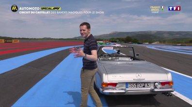 F1 - Circuit du Castellet : Des bandes magiques pour le show !