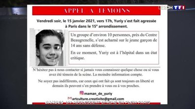 Bandes : un adolescent lynché en plein Paris