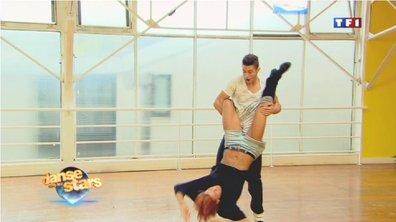 Danse avec les stars : Baptiste Giabiconi et Fauve, très complices (VIDEO)