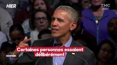 Barack Obama revient dans le game