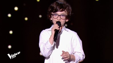 The Voice Kids 6 - Gaspard, 8 ans, reprend du Barbara (REPLAY)