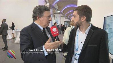 José Manuel Barroso s'exprime pour la première fois à la télévision
