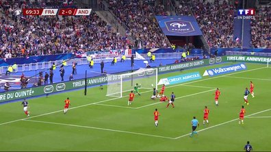 France - Andorre (2 - 0) : Voir l'occasion de Coman en vidéo
