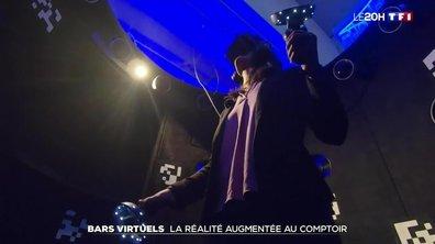 Bars virtuels à Londres : quand la réalité augmentée s'invite au comptoir