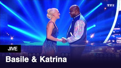 Basile Boli et Katrina Patchett l Jump l Jive