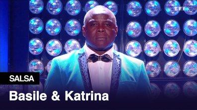 Basile Boli et Katrina Patchett l Gangnam style l Salsa