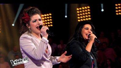"""The Voice : Caroline Rose s'approprie """"La foule"""" et remporte sa battle"""
