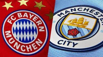Les maillots de Manchester City et du Bayern dévoilés