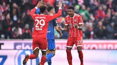 Bundesliga : Le Bayern se fait peur, mais renverse Hoffenheim