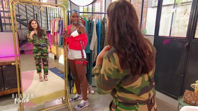 Yaelle va-t-elle valider le total look camouflage de Joséphine Barbara ?