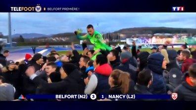 Coupe de France : la fin de l'aventure de la JS Saint-Pierroise, Belfort aux anges...