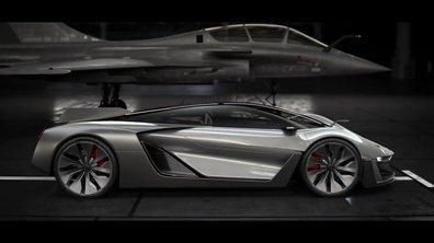 Le concept-car Bell & Ross AeroGT montre ses formes