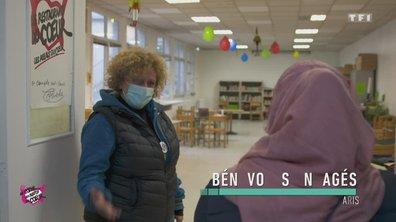 Gens de la rue / bénévolat à Paris - Au coeur des Restos du Coeur du 28 décembre 2020