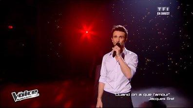 Benjamin Bocconi - Quand on n'a que l'amour (Jacques Brel) (saison 02)