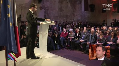 Benoit Hamon présente son programme