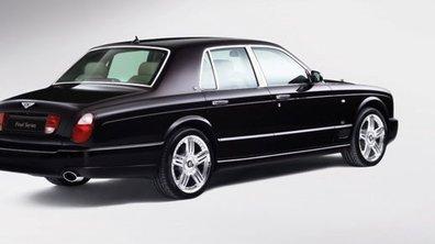 Bentley Arnage Final Series : fin de séries ...