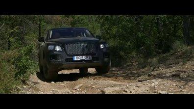 Bentley Bentayga: teaser d'une petite sortie en montagne