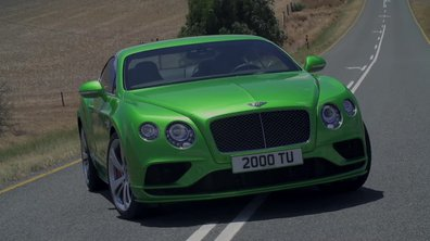 Bentley Continental GT Speed 2015 : présentation officielle