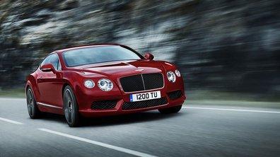Salon de Détroit 2012 : la Bentley Continental GT passe au V8