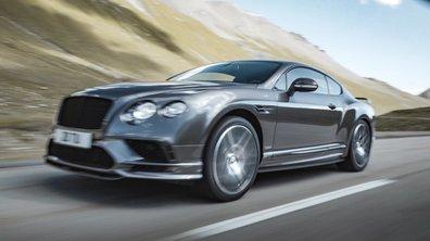 Bentley Continental Supersports 2017 : Présentation officielle