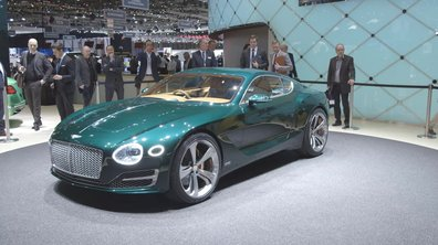 Salon de Genève 2015 : Le concept Bentley EXP 10 Speed 6 crée la surprise