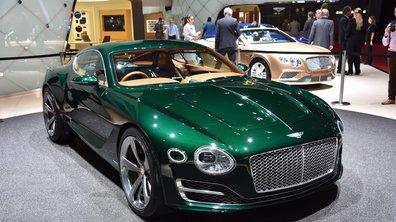 Salon de Genève 2015 : Bentley EXP 10 Speed 6 Concept, le coupé surprise
