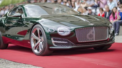 Après Villa d'Este, la Bentley EXP10 Speed 6 vise la victoire à Pebble Beach