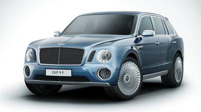 Salon de Genève 2012 : Bentley EXP9F Concept, le SUV limousine